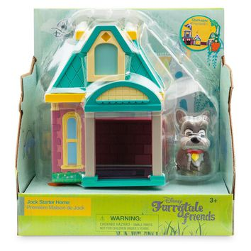 Disney Furrytale Friends Jock Starter Home Playset New with Box