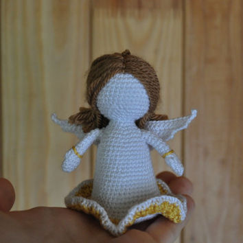 Little crochet angel / angel crochet / angel toy / wedding angel