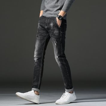 Stretch Stylish Men's Fashion Jeans [402184863773]
