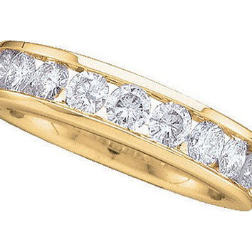 Diamond Fashion Band in 14k Gold 0.5 ctw