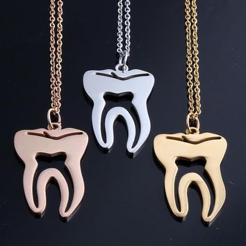 Medical Tooth Necklace for dentists