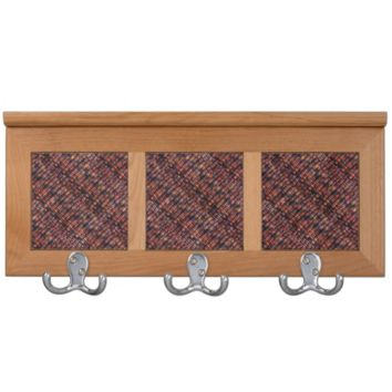 Fall Indian Corn Kernels Pattern Coat Rack