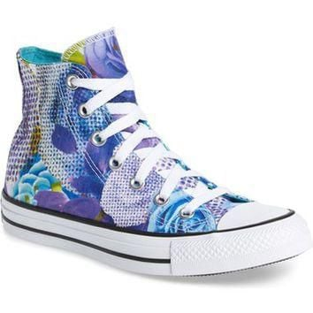 Converse Chuck Taylor? All Star? 'Digital Floral' High Top (Women) | Nordstrom