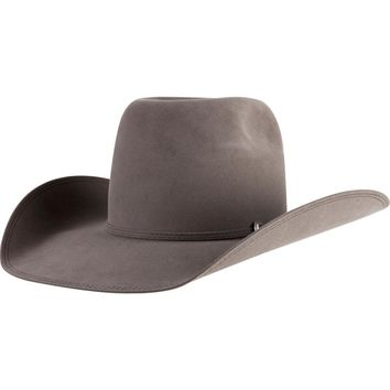 91766fb34 Greeley Hat Works Granite Beaver 20 Open Crown Felt Cowboy Hat