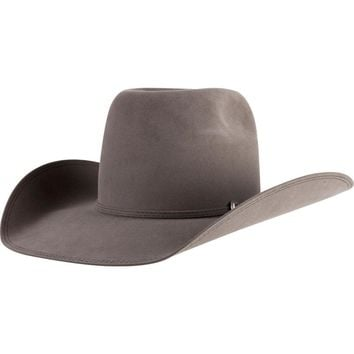 Greeley Hat Works Granite Beaver 20 Open Crown Felt Cowboy Hat