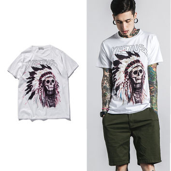 Indian Headdress YEEZUS SHIRT