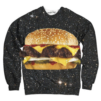 Delicious Intergalactic Burger Sweatshirt