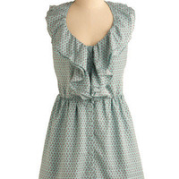 Tweet Yourself Well Dress | Mod Retro Vintage Printed Dresses | ModCloth.com