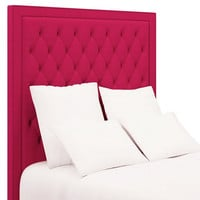 Stonington Tufted Headboard | Fuschia