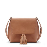 Sole Society Finch Shoulder With Tassel Flap
