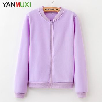 2018 new solid color casual women's clothing jacket winter warm long sleeves large loose knit cardigan coat fashion