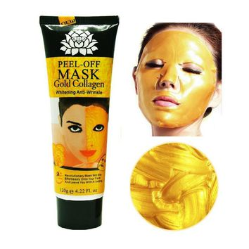 Face Care 120ml 24K golde mask Anti wrinkle Anti Aging facial mask