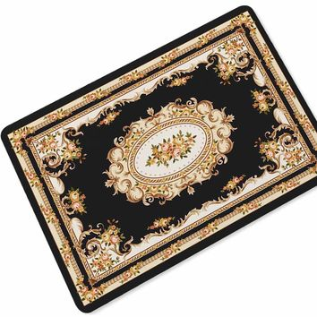 Autumn Fall welcome door mat doormat Persian Style Printed Rubber Anti Slip s Alfombra Cocina Entry Front s Tapis De Cuisine Welcome Kitchen Mat Rugs AT_76_7