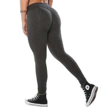 Polyester  High Waist Leggings