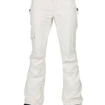 Burton TWC Native Snowboard Pants Stout White 2015 - Women's