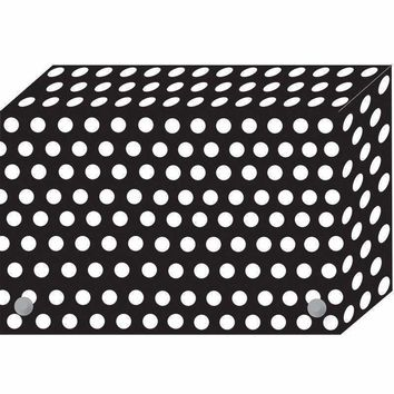 BW DOTS INDEX CARD BOXES 4X6IN