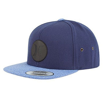 HURLEY Icon Vapor 2.0 Mens Snapback Hat, Blue