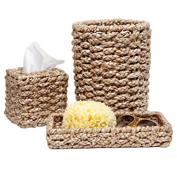 Destin Seagrass Bathroom Accessories