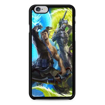 Genji And Hanzo Overwatch iPhone 6/6S Case