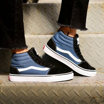 VANS black and blue men and women shoes