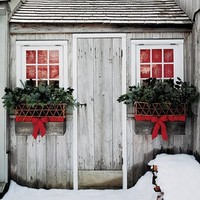 The Fat Hydrangea: Christmas Wreaths & Window Boxes