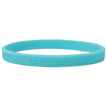 Light Blue Luka Lika Eternity Wristband