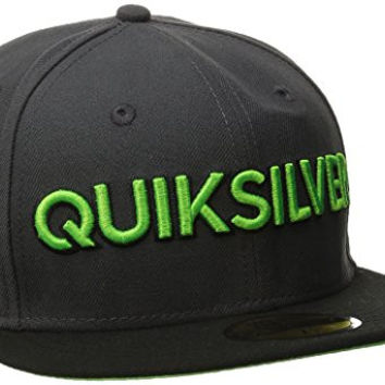 Quiksilver Men's Stillion New Era Hat, Dark Shadow, 7.375