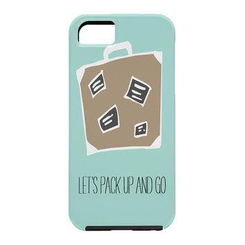 Allyson Johnson Lets pack up and go Cell Phone Case
