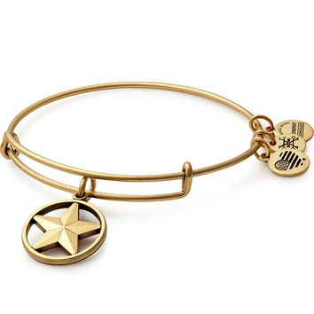 Star of Strength Charm Bangle