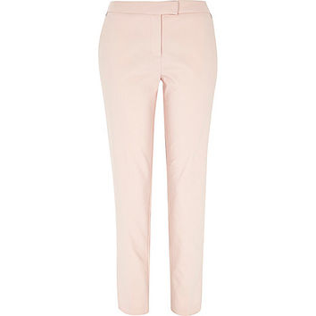 River Island Womens Light pink slim cigarette pants