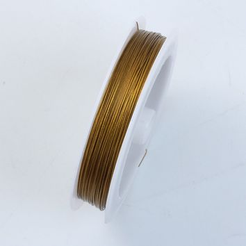 WG-101-25G Gold Color Wire 25 Gauge