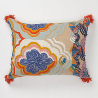 Embroidered Bhangra Pillow