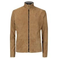 James Bond 007 Morocco Spectre Brown Suede Leather Jacket- 100% Money Back offer