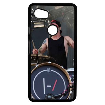 Twenty One Pilots Josh Dun And Tyler Joseph Art Google Pixel 2XL Case