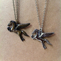 Pegasus, The Winged Horse necklace
