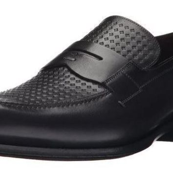 NEW Mezlan Men's Julio Slip-On Loafer, Graphite Shoes