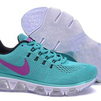 Nike Air Max Tailwind 8 Mint Green & Purple Running Shoes Sneakers For Women