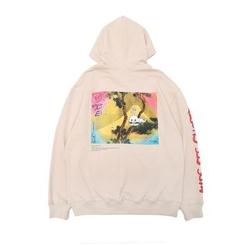 2018 VETEMENTS ACW Kanye West KIDS SEE GHOSTS Men Women Pullover Hoodies Hip Hip Fashion Cotton Sweatshirts 2 style S-XL