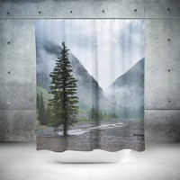 Pine Valley, Colorado Shower Curtain