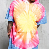 French Terry Tie-Dye Hoodie