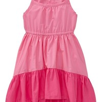 Color-Block Hi-Lo Sundresses for Baby
