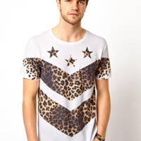 New Look | New Look T-Shirt with Stars & Stripes at ASOS