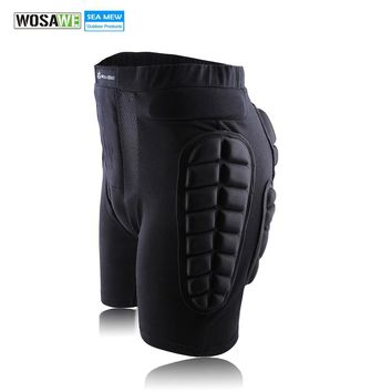 WOSAWE 2018 Unisex Moto Sports Protective Gear Hip Pad Motorcross Off Road MTB Bike Skating Ski Hockey Armor Shorts