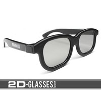 Hank Green's 2D-Glasses: Turns 3D movies back to 2D