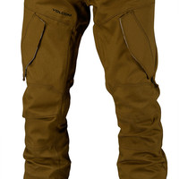 Volcom Articulated Snowboard Pant - Teak