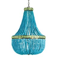 Currey and Company Hedy Chandelier-4L