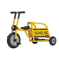 Italtrike Pilot 300 Yellow School Bus Tricycle - Italtrike 1009821 - Tricycles - FAO Schwarz®