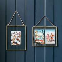 Large Kiko Frame - Antique Brass at Rose and Grey