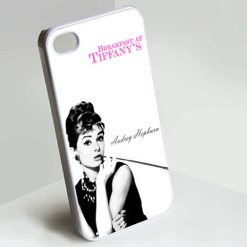 Audrey Hepburn Quote iPhone 5C Case, iPhone 5S Case, iPhone 5 Case, iPhone 4/4S Case, Samsung Galaxy S3 and S4 Case, Durable Hard Case