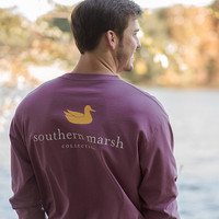 Limited Edition! Southern Marsh Authentic Collegiate - Long Sleeve